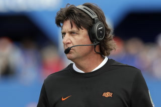 Mike Gundy sends check to radio host who lost Oklahoma State Bet