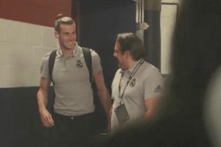 La reacción de Bale al abandonar el estadio NRG tras no ser convocado por Zidane