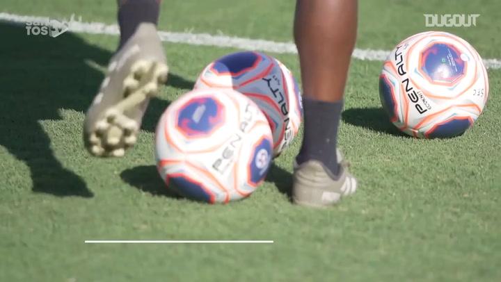 Santos return to training