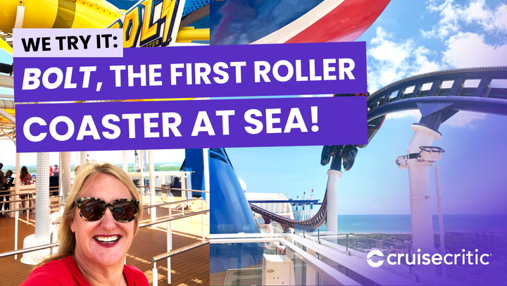 BOLT: We try the Mardi Gras carnival roller coaster at sea