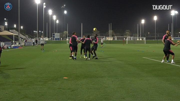 Skills From Neymar Jr, Thiago Silva And PSG Team-mates