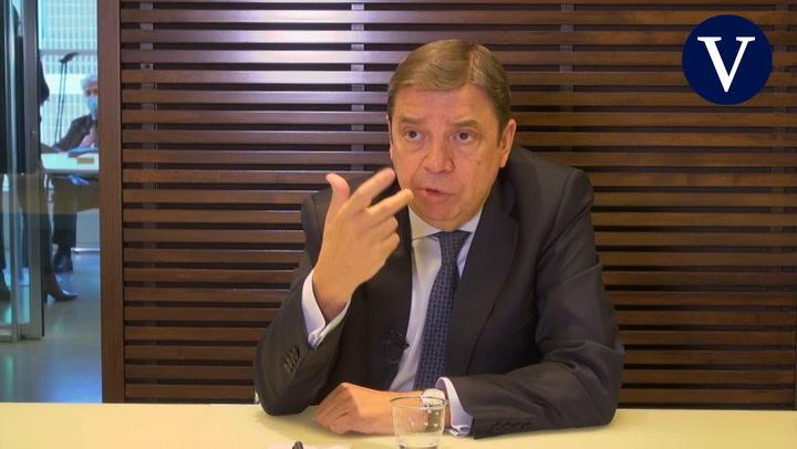 Entrevista a Luis Planas, ministro de Agricultura, Pesca y Alimentación