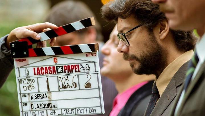 Álvaro Morte, 'El Profesor', muestra el drama durante el rodaje de 'La Casa de Papel'