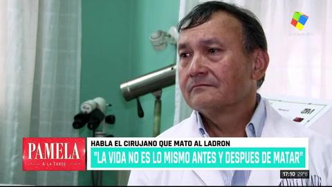 El cirujano que mató al ladrón: Pensé en el suicidio