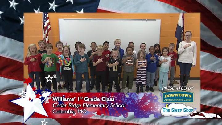 Cedar Ridge Elementary - Ms. Williams - 1st Grade