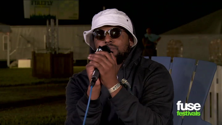 Festivals: Firefly 2013: Schoolboy Q Talks New LP, 50 Cent Collabo, Skateboarding Onstage