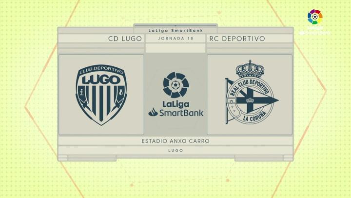 LaLiga SmartBank (J18): Resumen del Lugo 0-0 Deportivo