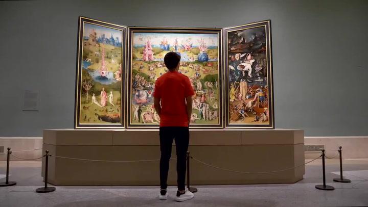 'Puro talento': El Atlético da la bienvenida a Joao Felix en el Museo del Prado