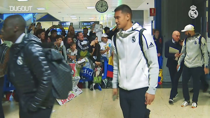 Real Madrid squad has arrived in Valencia