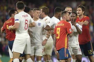 Inglaterra revive en la Liga de Naciones tras vencer a España