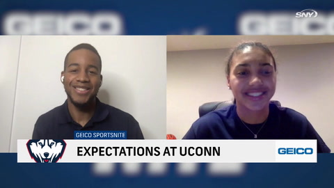 SportsNite: No. 1 women's basketball recruit Azzi Fudd breaks down why she committed to UConn