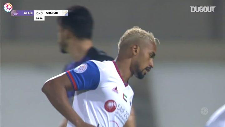 Highlights: Sharjah 1-2 Al-Ain