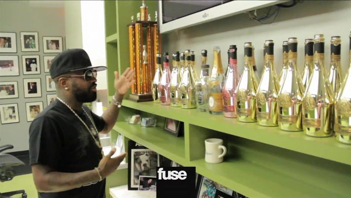 Jermaine Dupri Gives A Tour Of His So So Def Studio