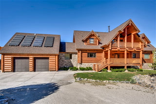 Real Estate Millions: Cold Creek Log House