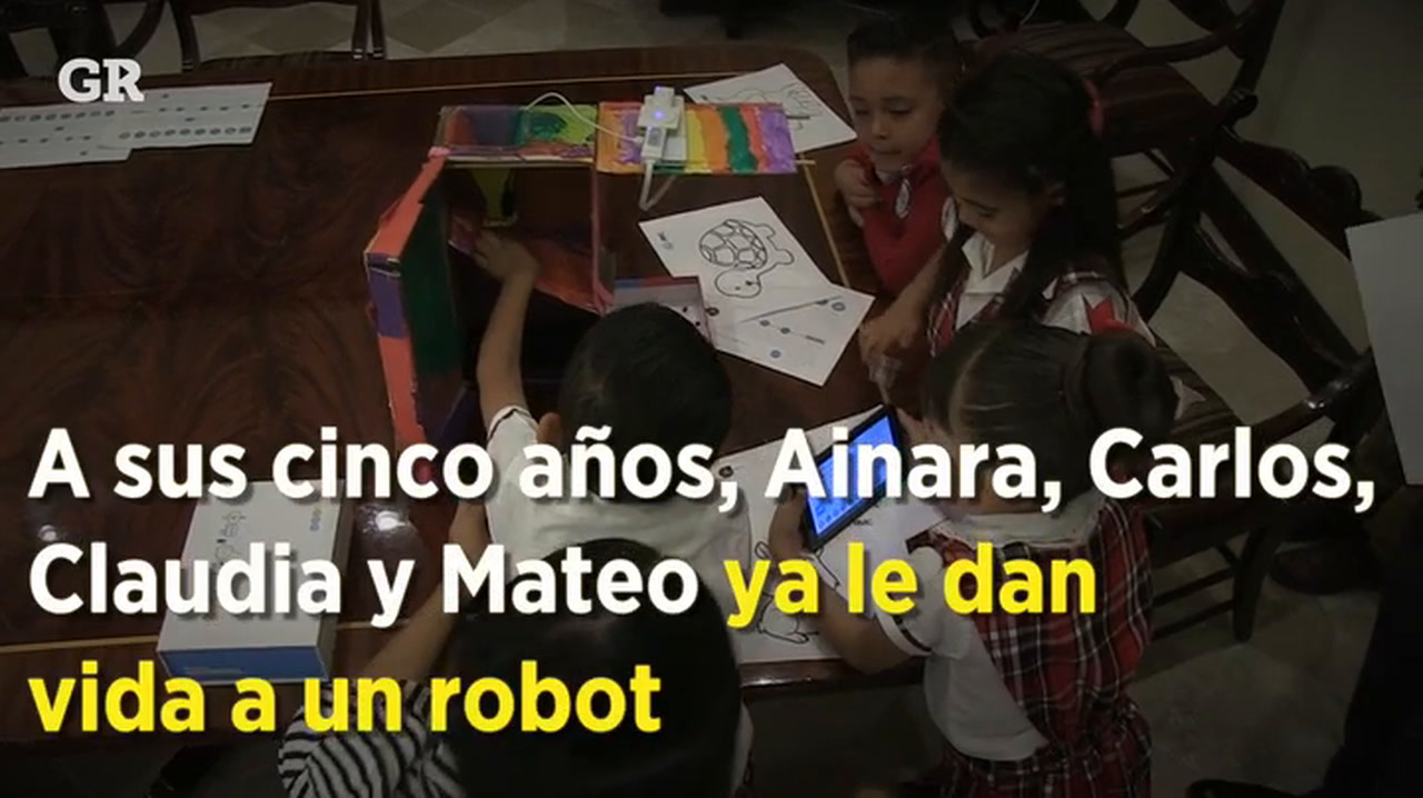 Video: Robótica infantil