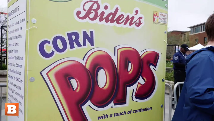 Bernie Bro Introduces the Ingredients of Biden's Corn Pops
