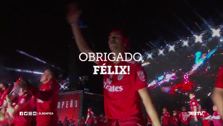 El Benfica se despide de Joao Felix con un espectacular vídeo