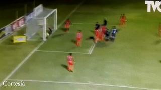 Klusener llegó a marcar el triunfo al minuto 93 para Motagua