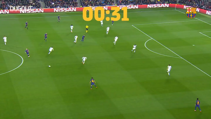 Messi's quickest ever goal for FC Barcelona