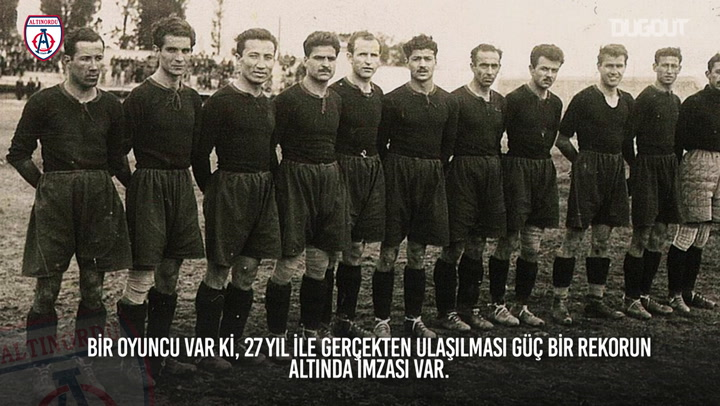 The Story Behind: Sait Altinordu's Incredible Record