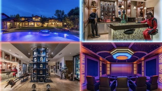 Luxurious $26.5M Mansion Stuns Viewers With Its Over-the-Top 'Star Wars' Basement
