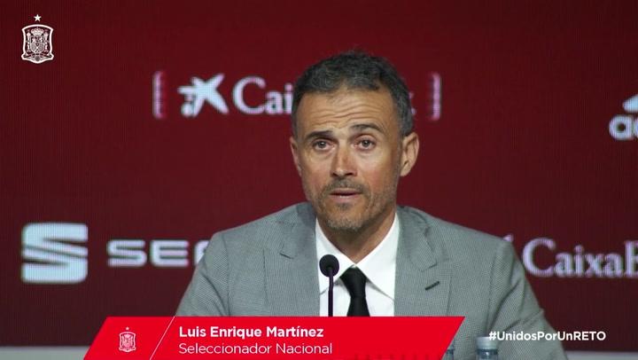 """Luis Enrique: """"Robert Moreno fue desleal y no quiero a nadie con esas características en mi staff"""""""