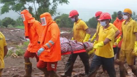 Más de 150 muertos y decenas de desaparecidos por lluvias en India