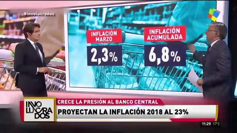 El Indec midió una inflación de 2