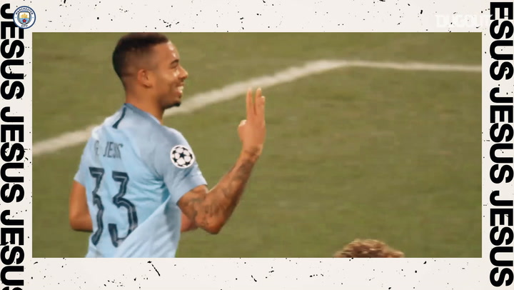 Manchester City's South American superstars: Sergio Aguero and Gabriel Jesus
