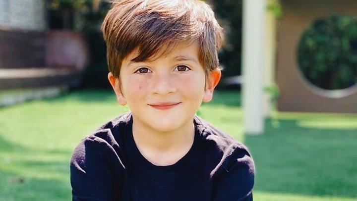 Preciosa felicitación de Antonela Roccuzo a su hijo Thiago por su octavo cumpleaños