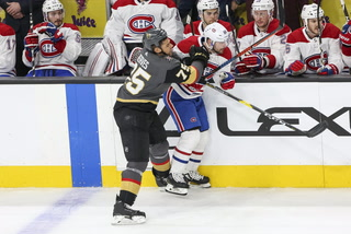 Golden Knights Fall To Canadiens In Overtime