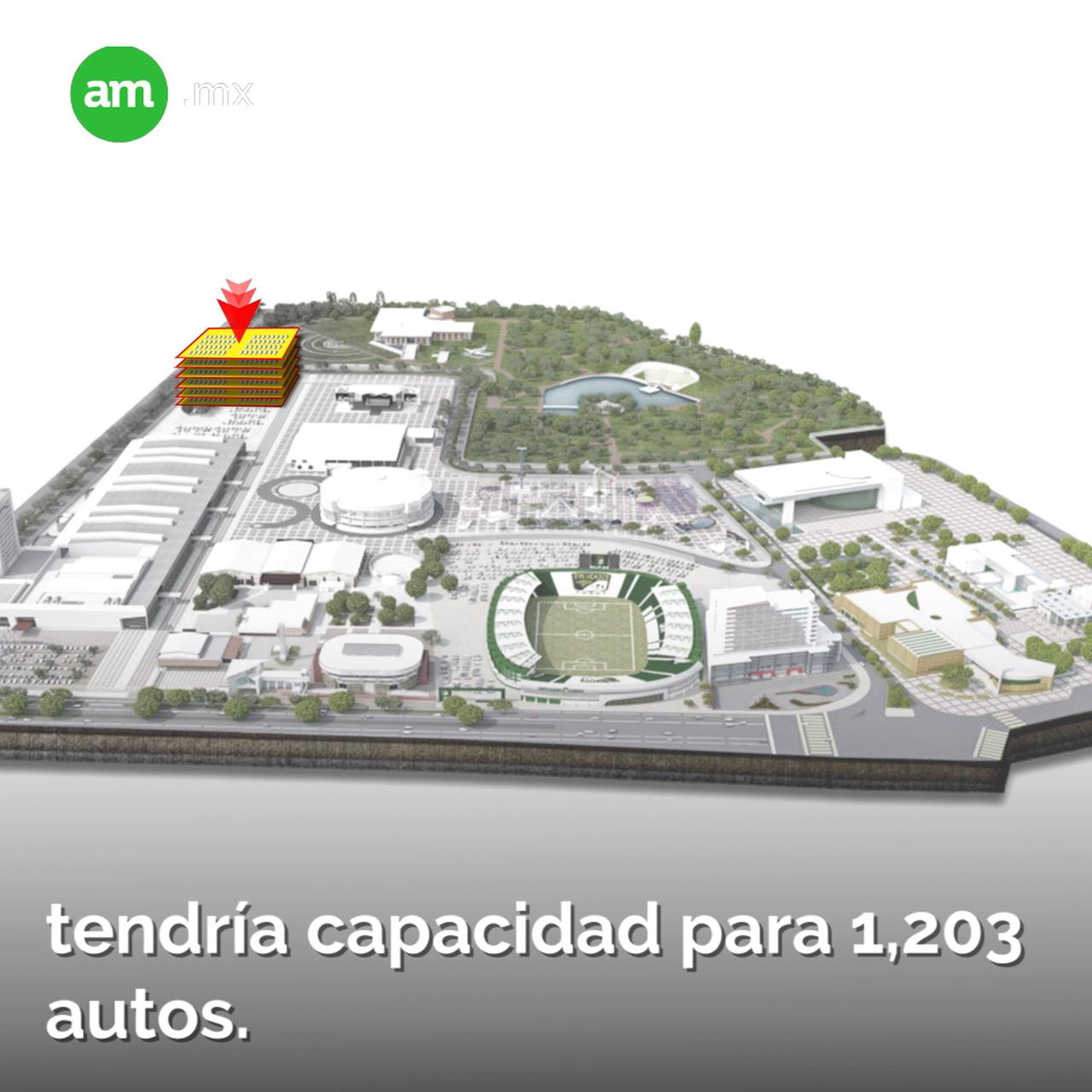 Dará mega estacionamiento servicio de primera