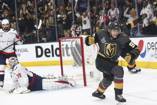 Golden Edge: Knights Win Game One Of Stanley Cup