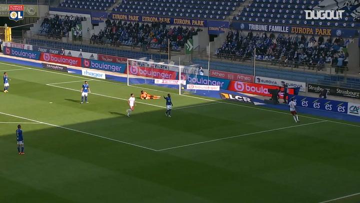 Tino Kadewere's first goal at Lyon