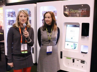 NRF 2012: StoreBOT, an automated retailing kiosk