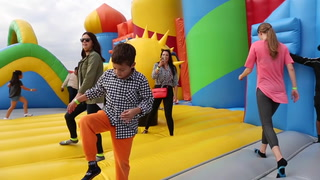 World's Largest Bounce House Comes to Houston