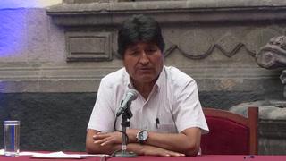 Evo Morales dice estar abierto al diálogo para volver a Bolivia