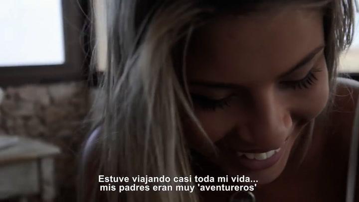 Este es el vídeo que grabó una jovencísima Christine Giampaoli para poder realizar su sueño