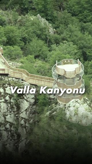 Valla Türkiye'nin en derin kanyonu