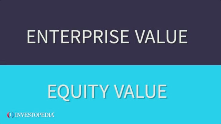 Enterprise Value Vs Equity Value What S The Difference