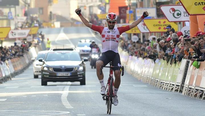 El resumen de la primera etapa de la Volta a Catalunya