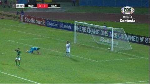 Segundo gol de Javier Correa al Marathón (Liga CONCACAF 2019)