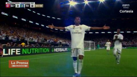 Video: Brasileño Rodrygo debuta con golazo en Real Madrid frente al Bayern Múnich