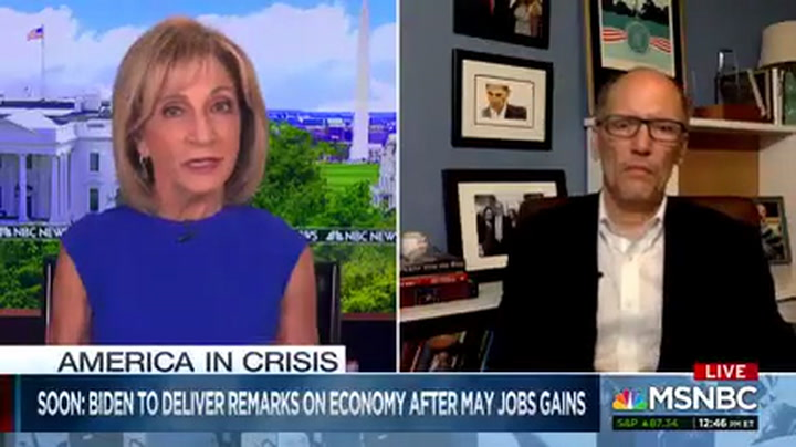 DNC Chair Perez: Trump Trying to 'Spike the Football' on Unemployment When We Are in a Crisis