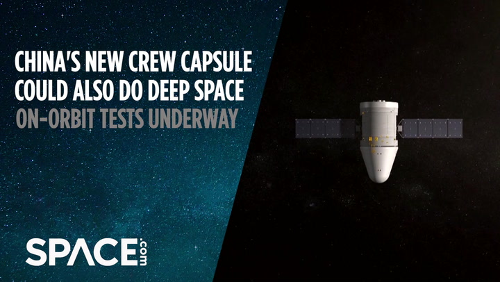 China's new crew capsule could also do deep space exploration