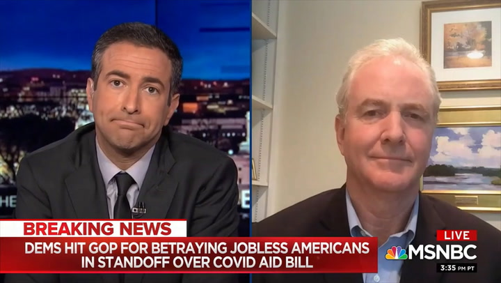 Van Hollen: 'No Equivalence' Between Russian Interference and 'Policy Positions' of China and Iran