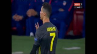 El gesto de Cristiano Ronaldo a los hinchas del Atlético de Madrid