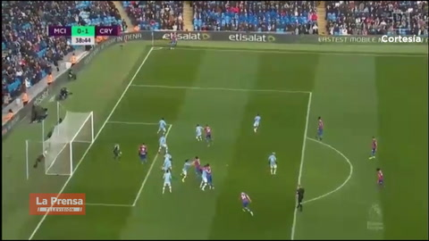 Video: Manchester City 2-2 Crystal Palace