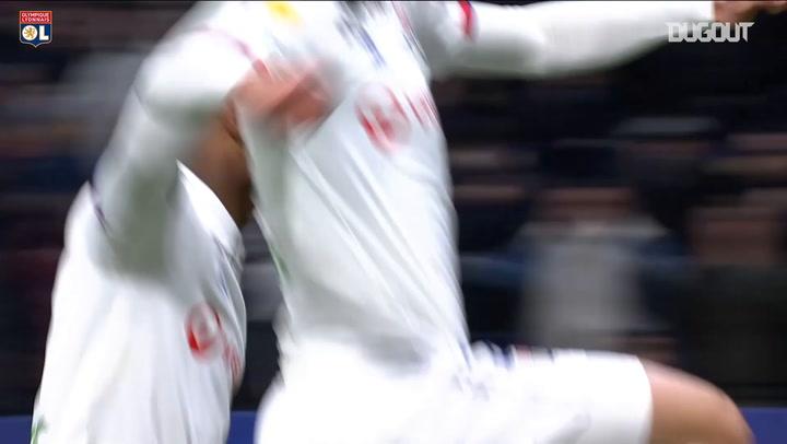 All Olympique Lyonnais goals in the 2019-20 Coupe de la Ligue