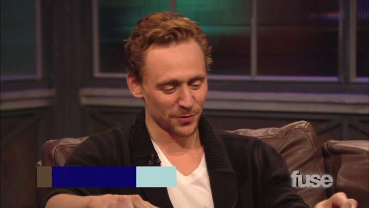 Shows: Hoppus on Music:  The Avengers Tom Hiddleston Talks Playing Dance Dance Revolution With His Costars: Hoppus On Music Part 2